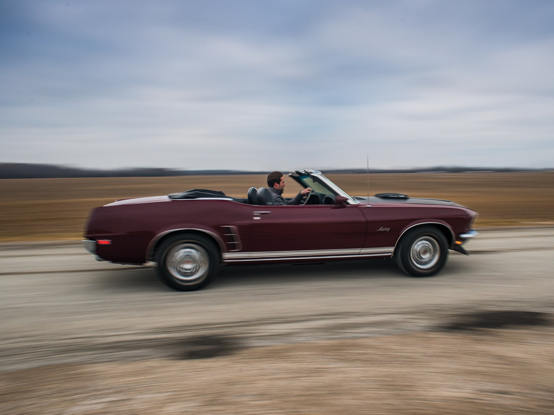 1969 ford mustang gt 428 cobra jet convertible