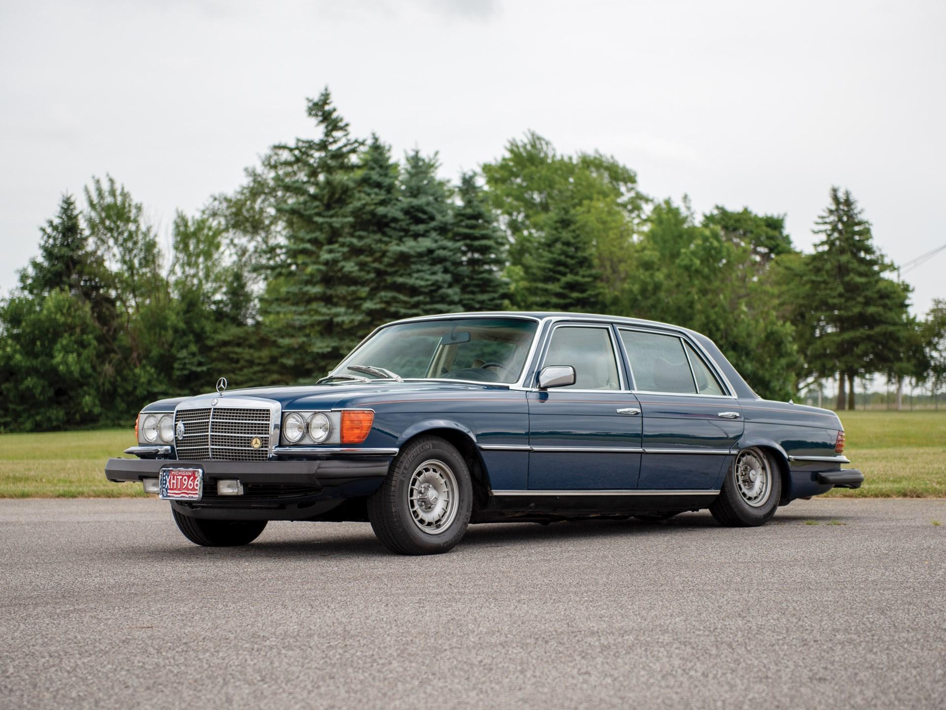 RM Sotheby's - 1977 Mercedes-Benz 450 SEL 6 9 Sedan   Auburn