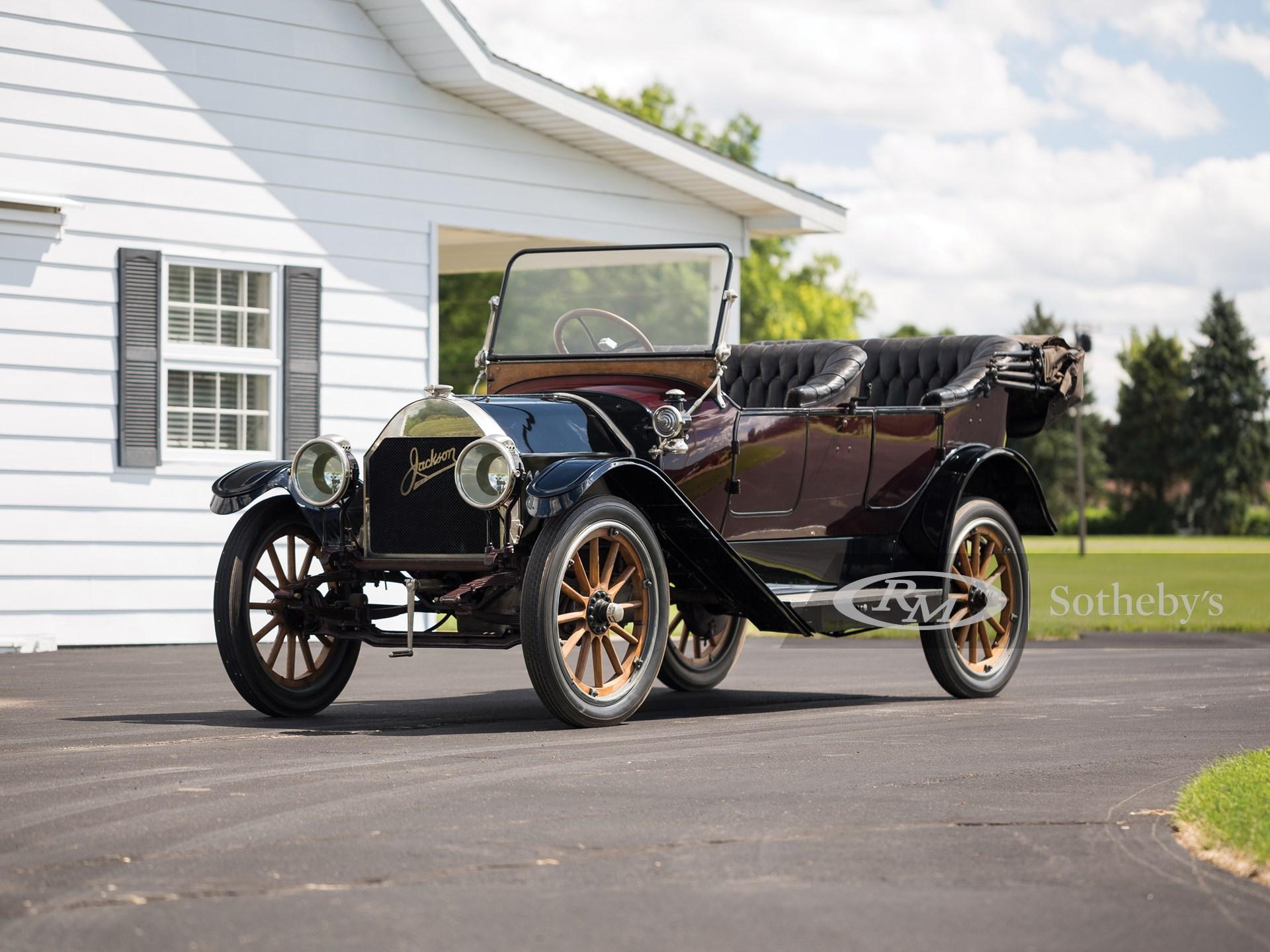 1913 Jackson Sultanic Five-Passenger Touring