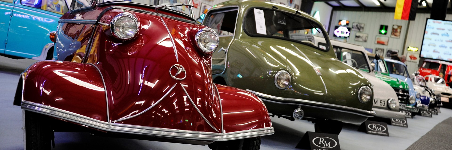The Bruce Weiner Microcar Museum