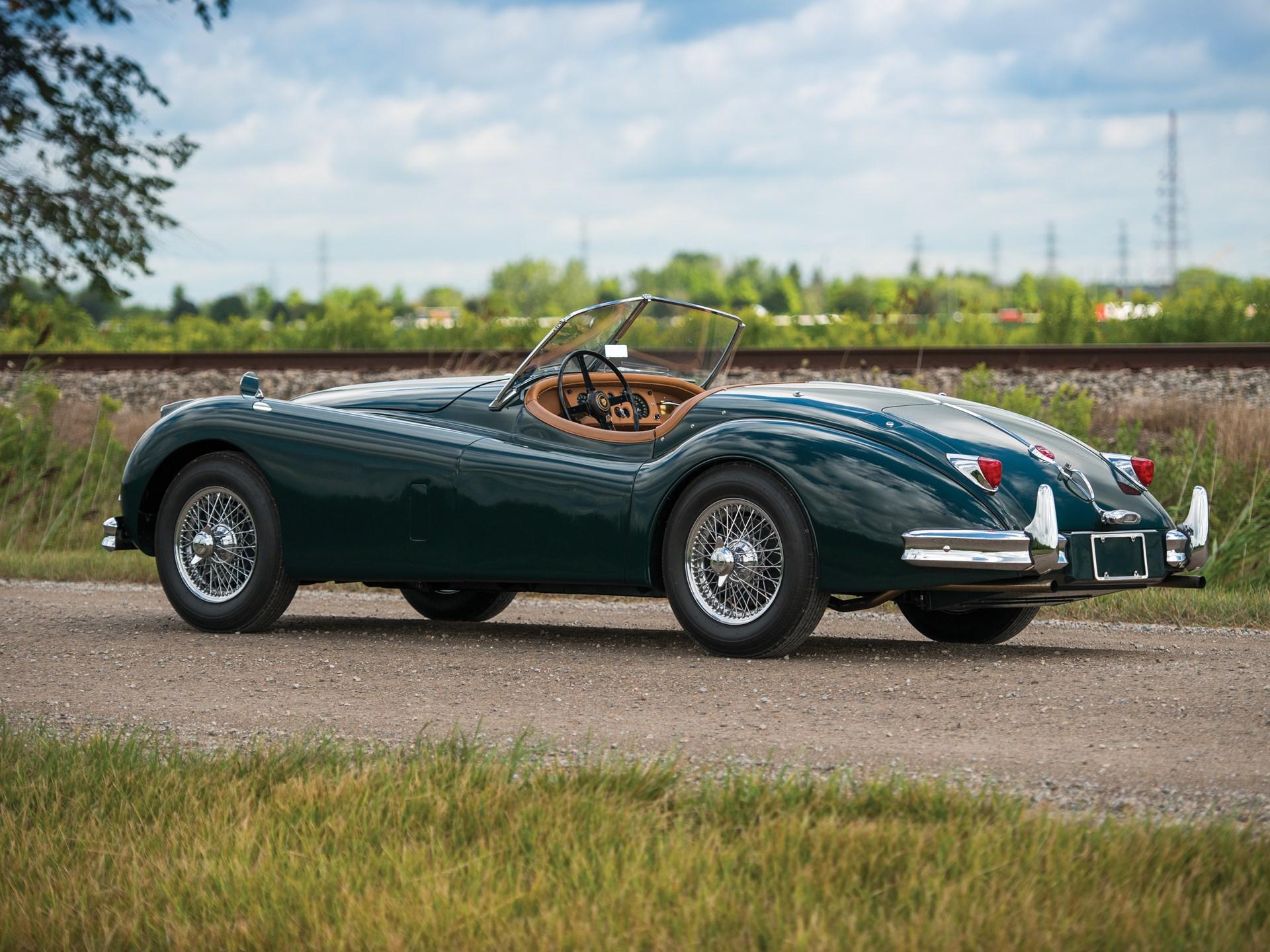 RM Sotheby's - 1955 Jaguar XK 140 MC Roadster | Hershey 2017  |1955 Jaguar Roadster