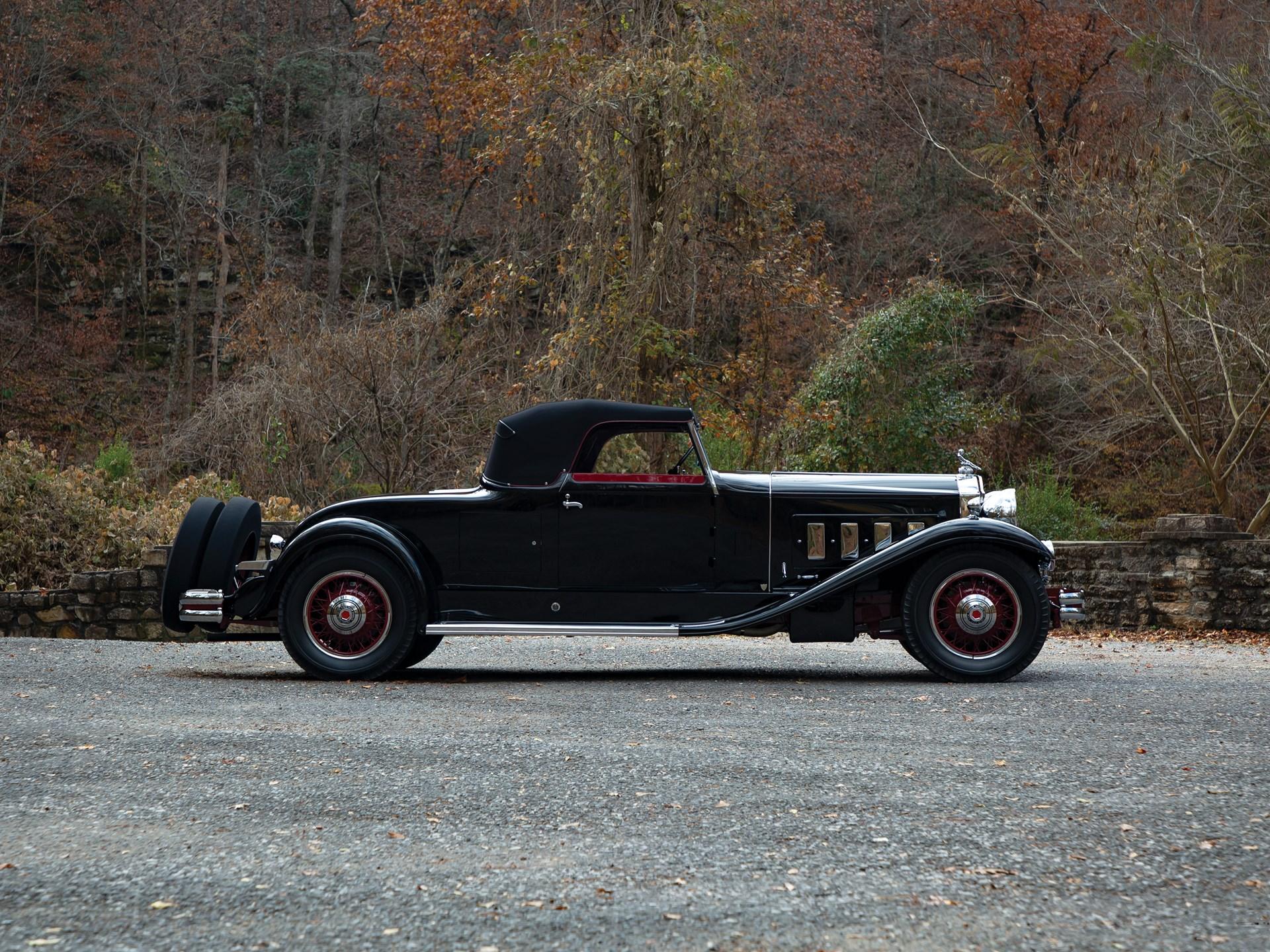 1931 Packard Deluxe Eight Convertible Roadster by Derham