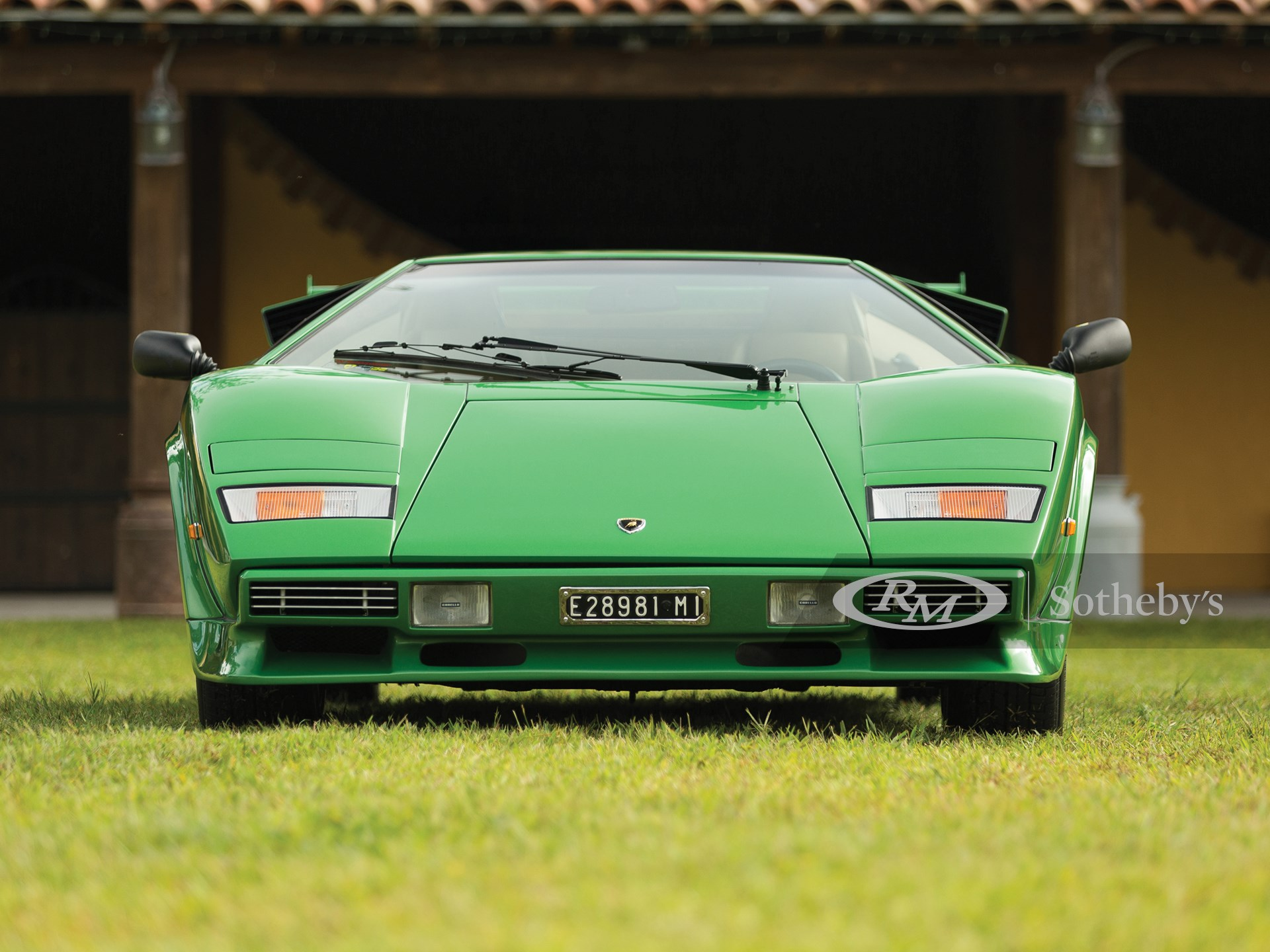 1981 Lamborghini Countach LP400 S Series III by Bertone -