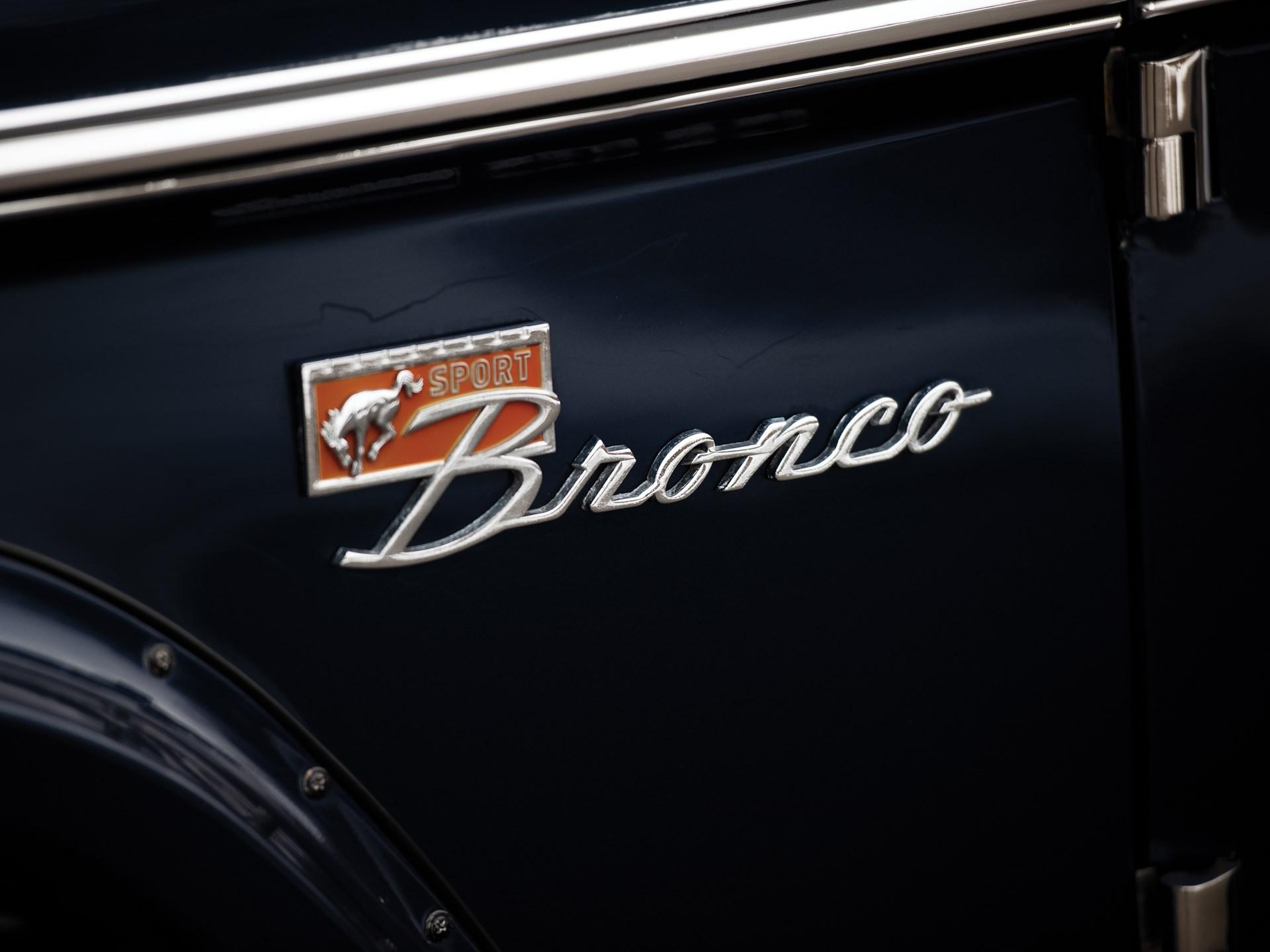 1975 Ford Bronco Custom