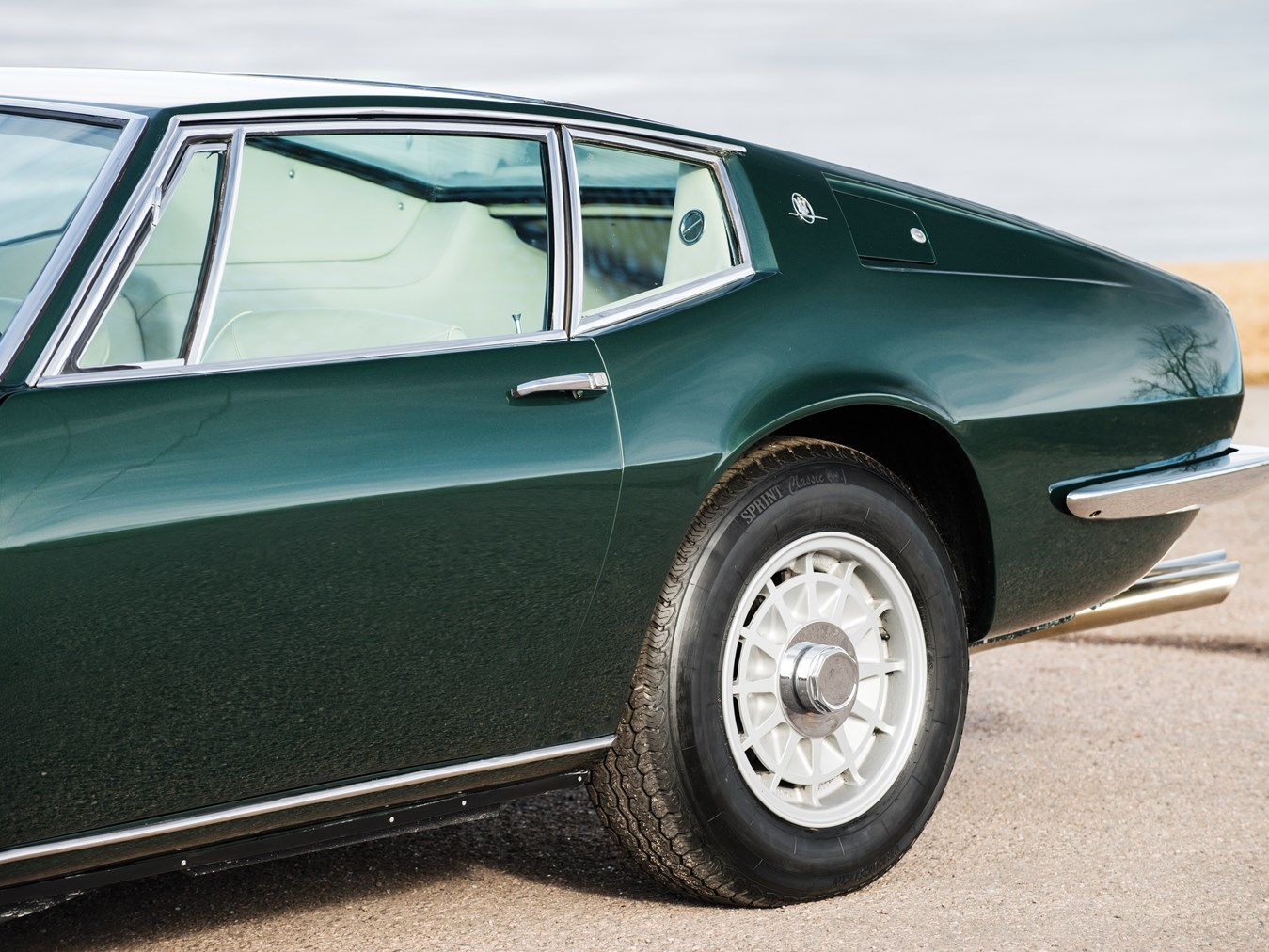 1969 Maserati Ghibli 4.7 Coupe by Ghia