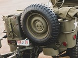 1942 Willys MB Jeep & Trailer  - $