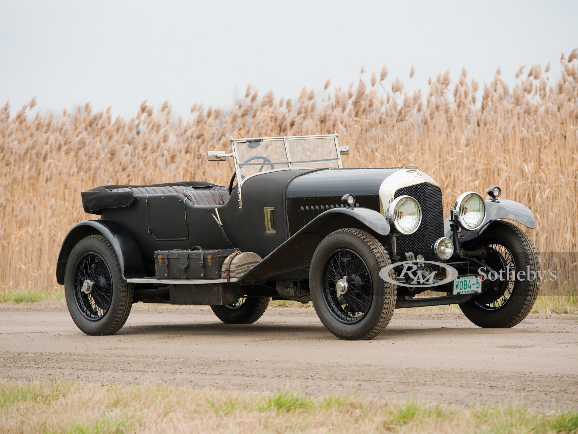 1929 Bentley 4½-Litre Tourer by Vanden Plas