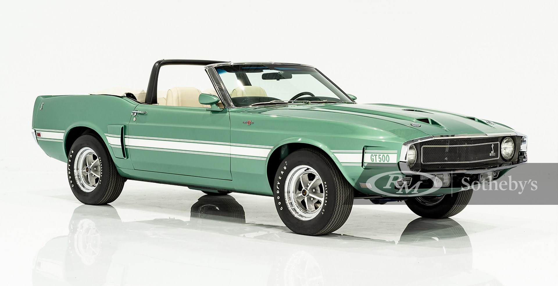 1969 Shelby GT500 Convertible available at RM Sotheby's Online Only Open Roads April Auction 2021