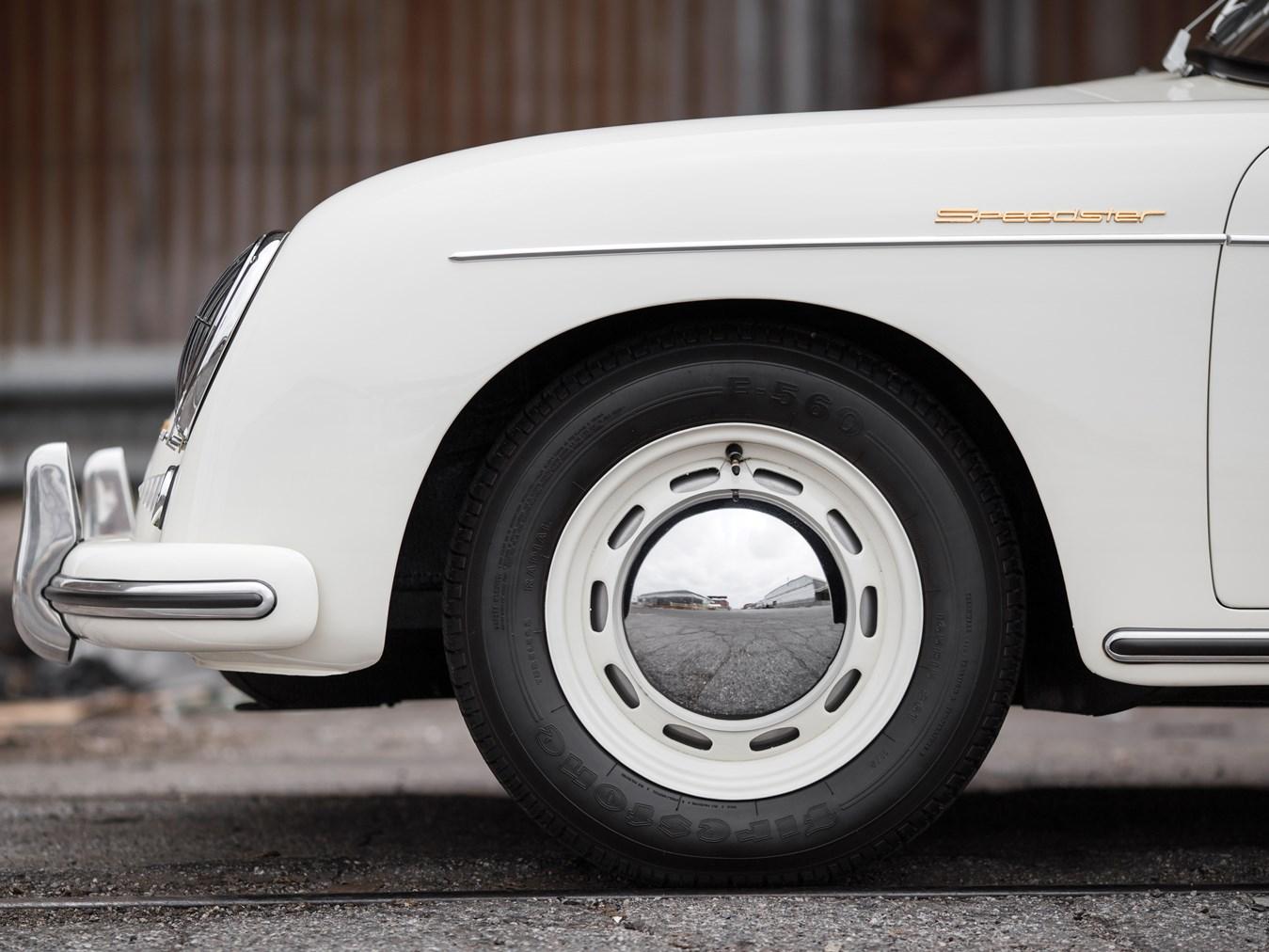 1956 Porsche 356 A 1600 Speedster by Reutter