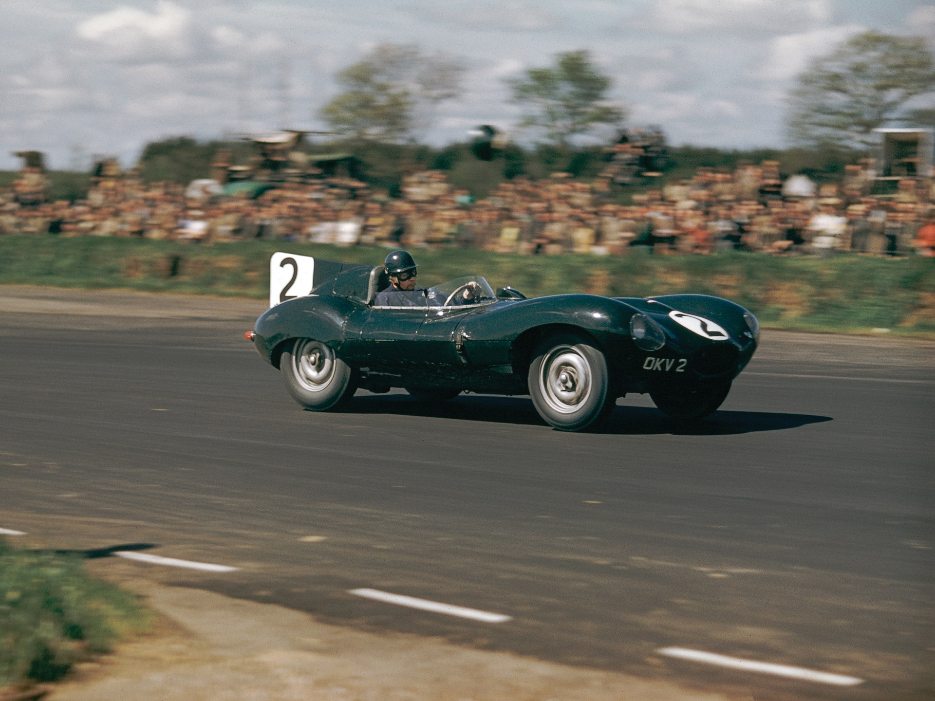 1954 Jaguar D-Type Works