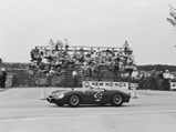 1962 Ferrari 196 SP by Fantuzzi - $Racing under Luigi Chinetti's N.A.R.T banner at the 12 Hours of Sebring, 1962.
