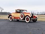 1927 Peerless Boattail Speedster  - $