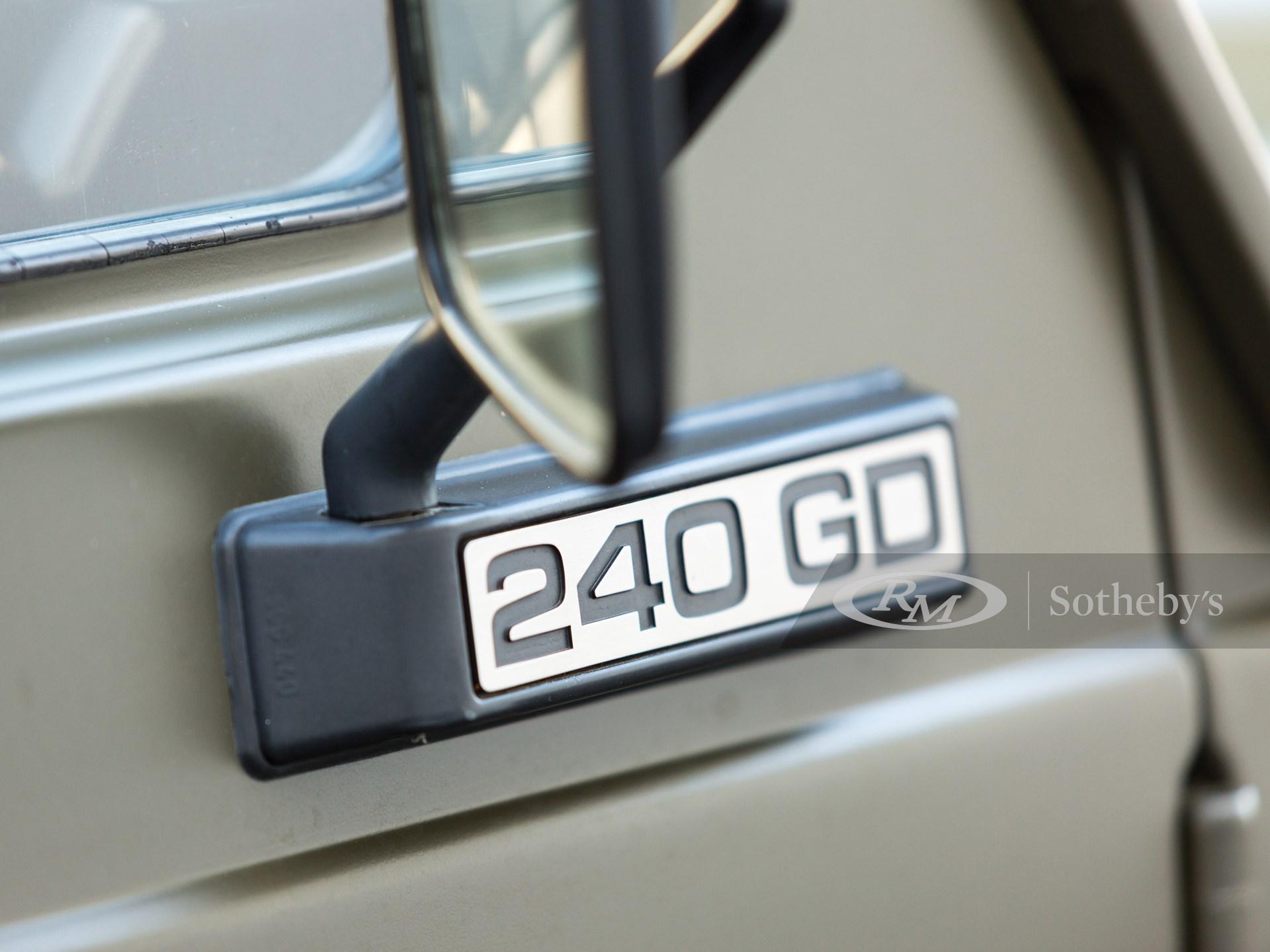 1984 Mercedes-Benz 240 GD  -