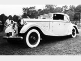 1926 Hispano-Suiza H6B Cabriolet Le Dandy by Chapron - $The Hispano-Suiza on display during Joe Weider's ownership, New York, 1967.