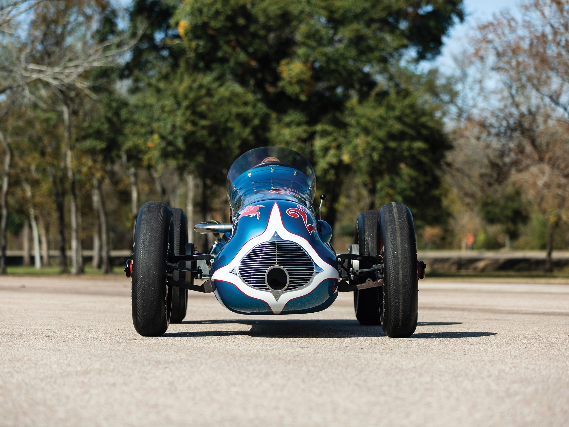 """1949 Lesovsky-Offenhauser Indianapolis """"Blue Crown Special"""""""