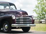1951 Chevrolet 1300 Five-Window Pickup Truck  - $