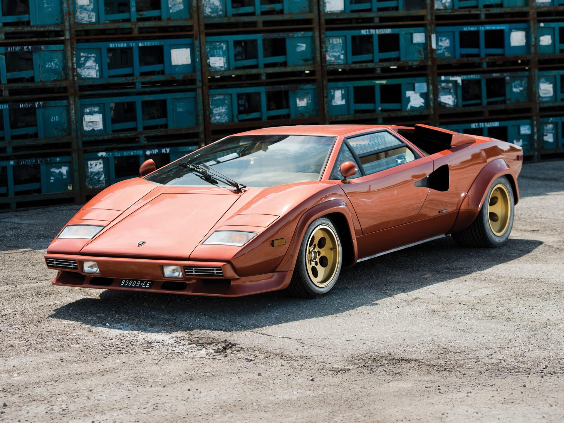 Rm Sotheby S 1979 Lamborghini Countach Lp400s Series I Monterey 2014