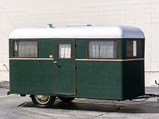 1934 Covered Wagon Camping Trailer  - $