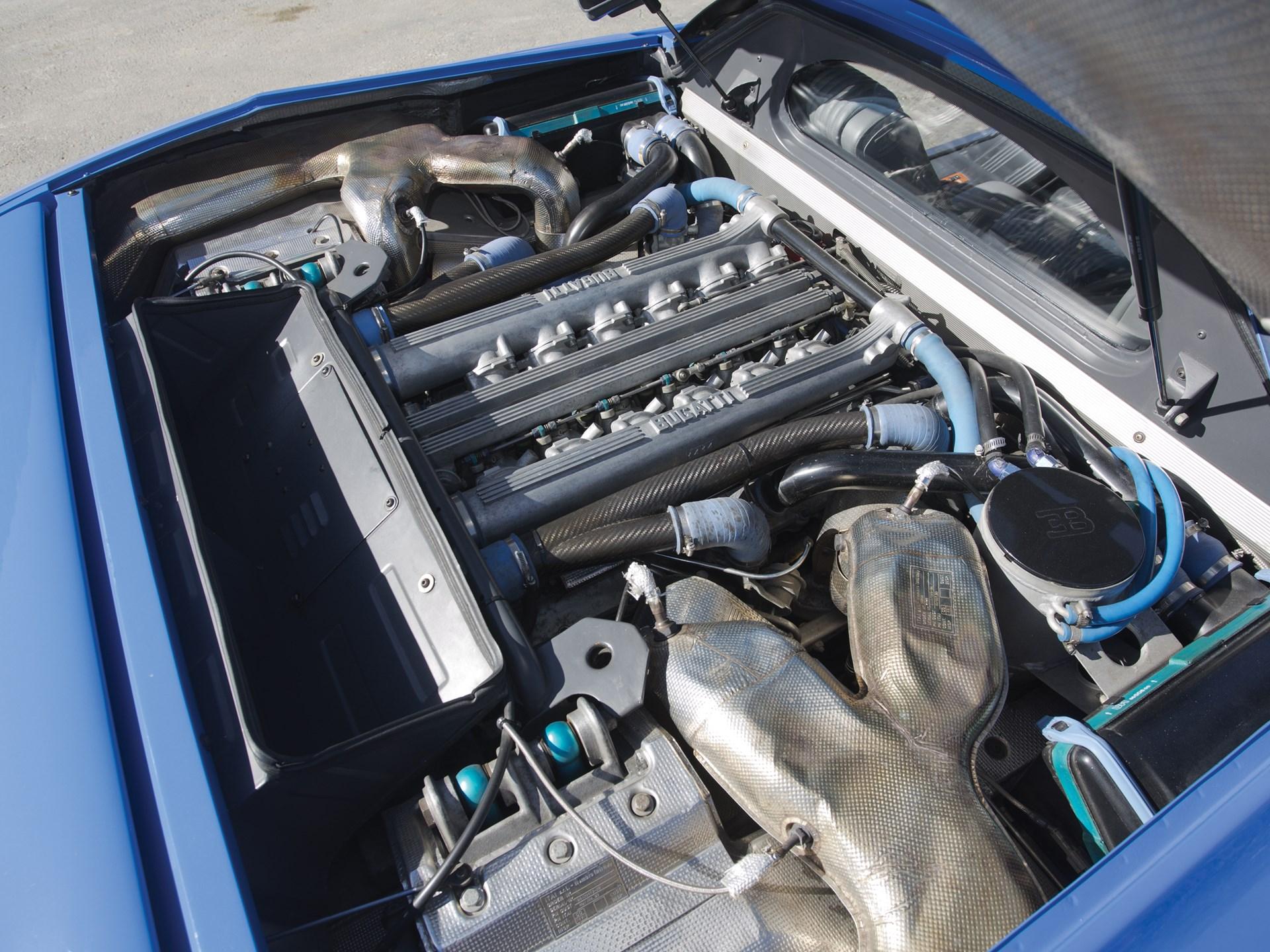 Bugatti eb110 engine