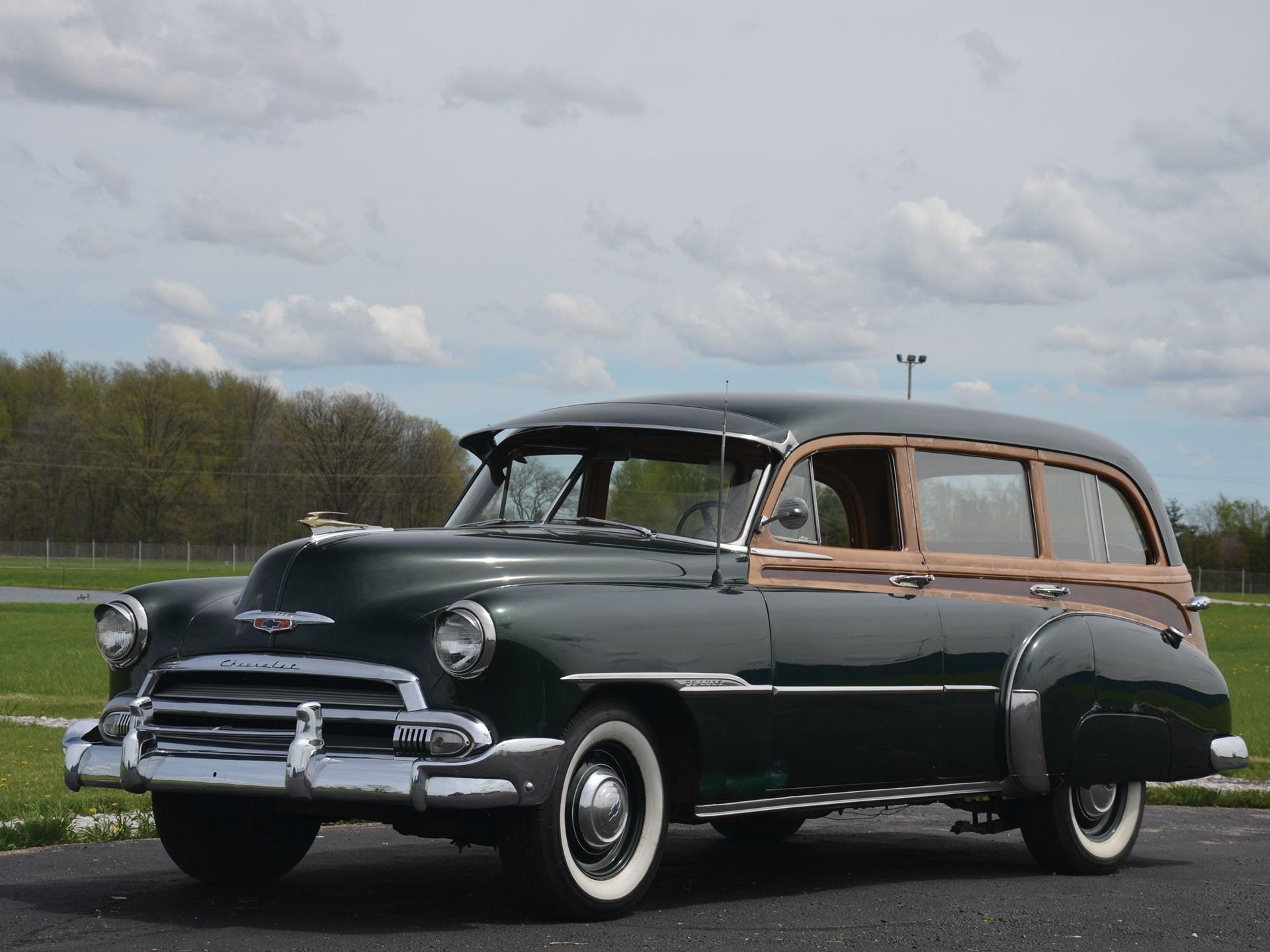 Rm Sothebys 1951 Chevrolet Styleline Deluxe Auburn Spring 2013 2 Door