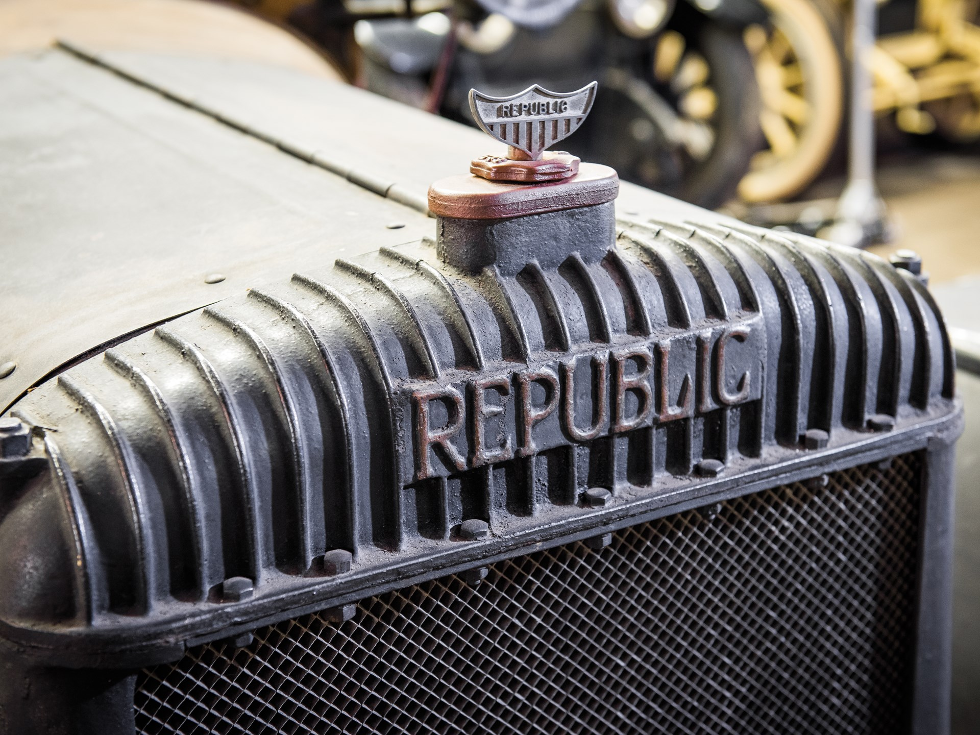 1916 Republic Beer Truck