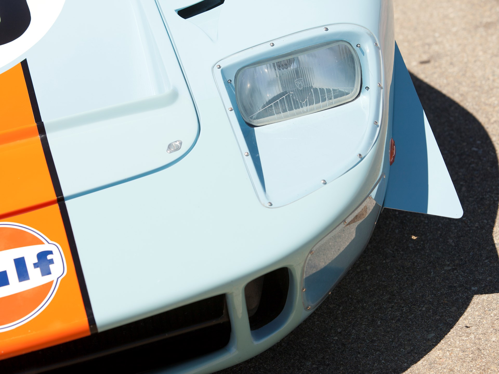 RM Sotheby's - 1968 Ford GT40 Gulf/Mirage Lightweight Racing Car