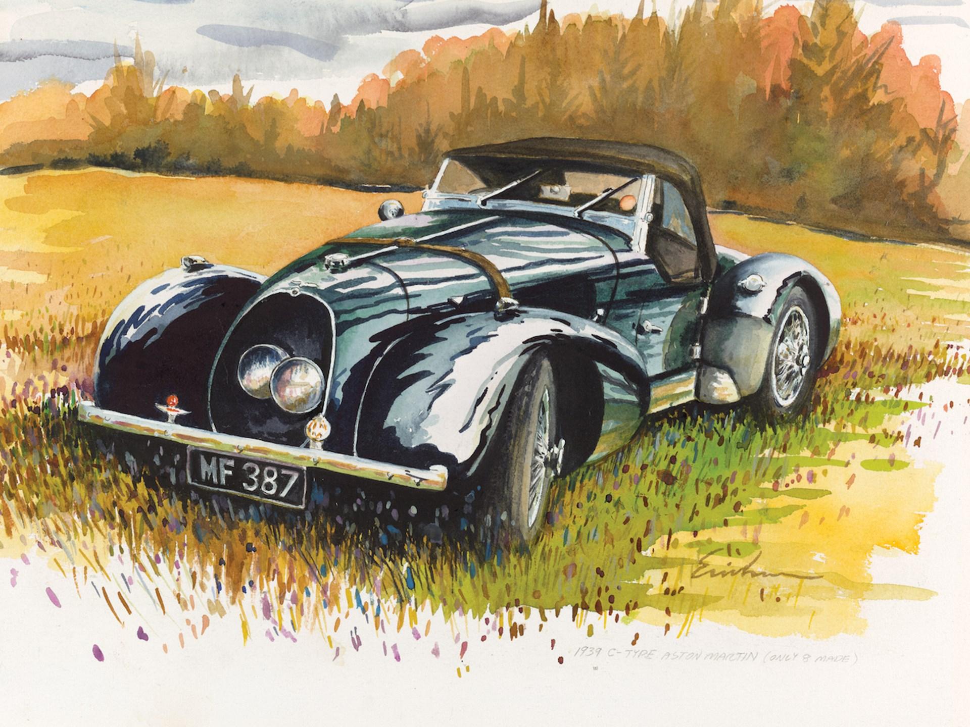 1940 Aston Martin Speed Model Type C