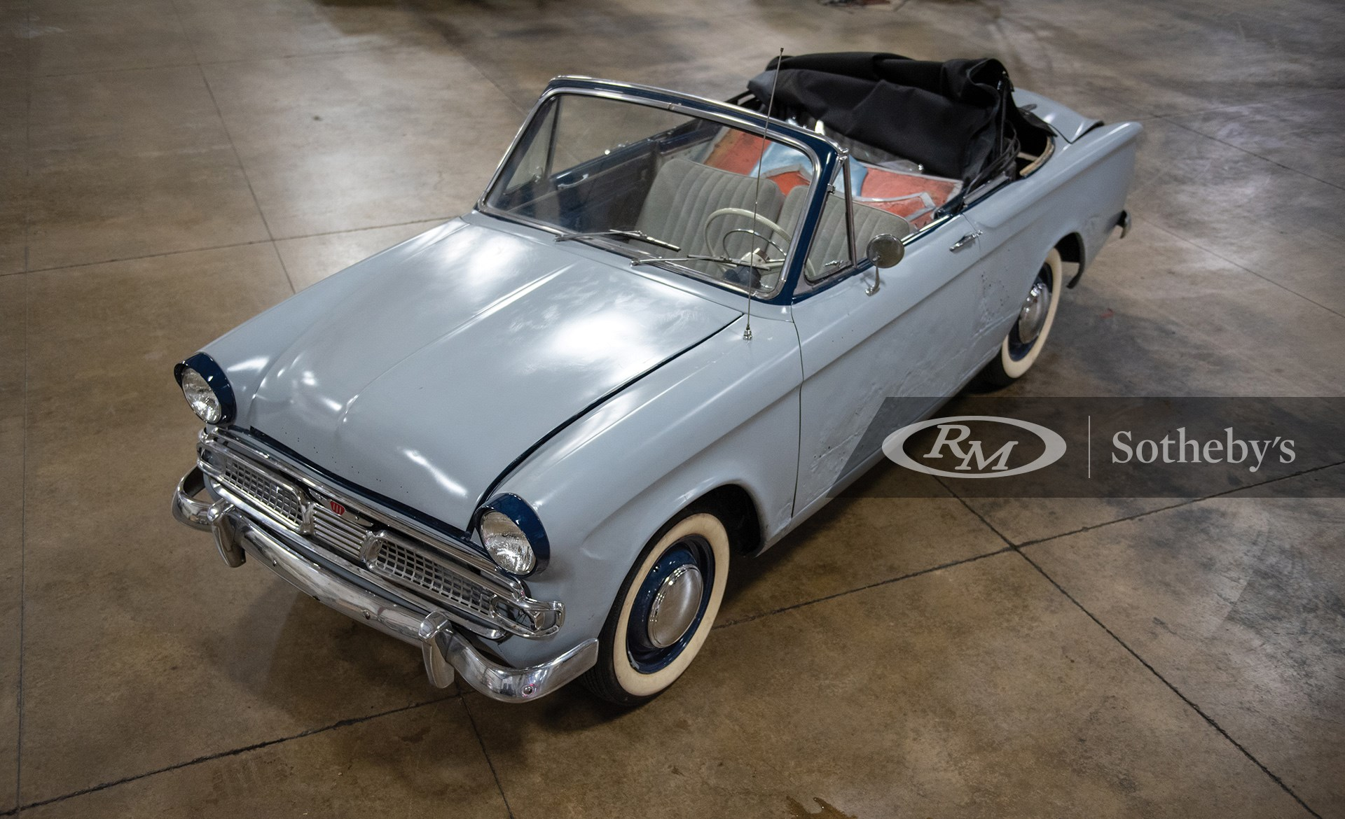 RM Sotheby's The Elkhart Collection 2020, Blog, 1961 Hillman Minx Convertible Project