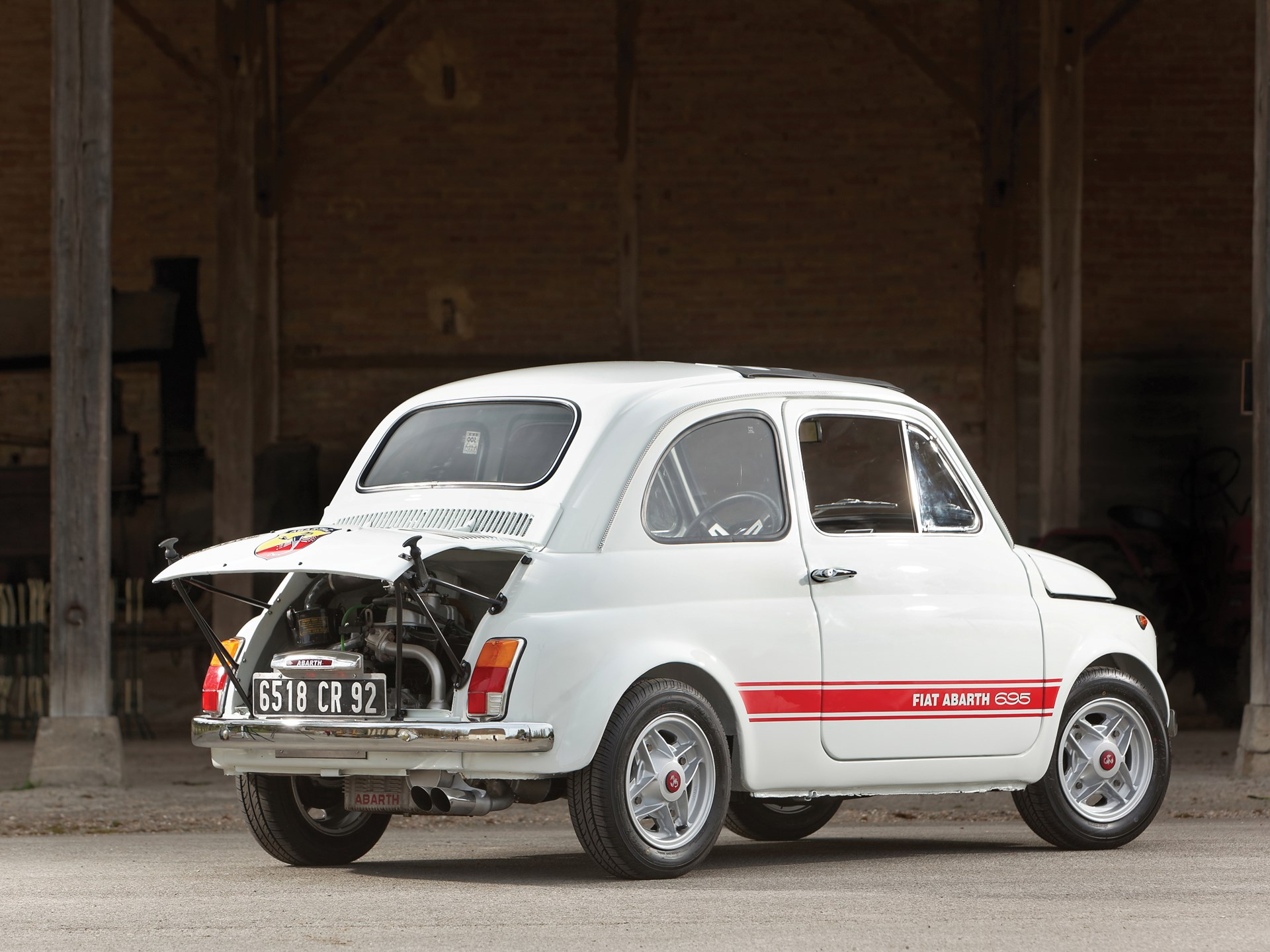 RM Sotheby's - 1970 Fiat Abarth 695 SS | Monaco 2014
