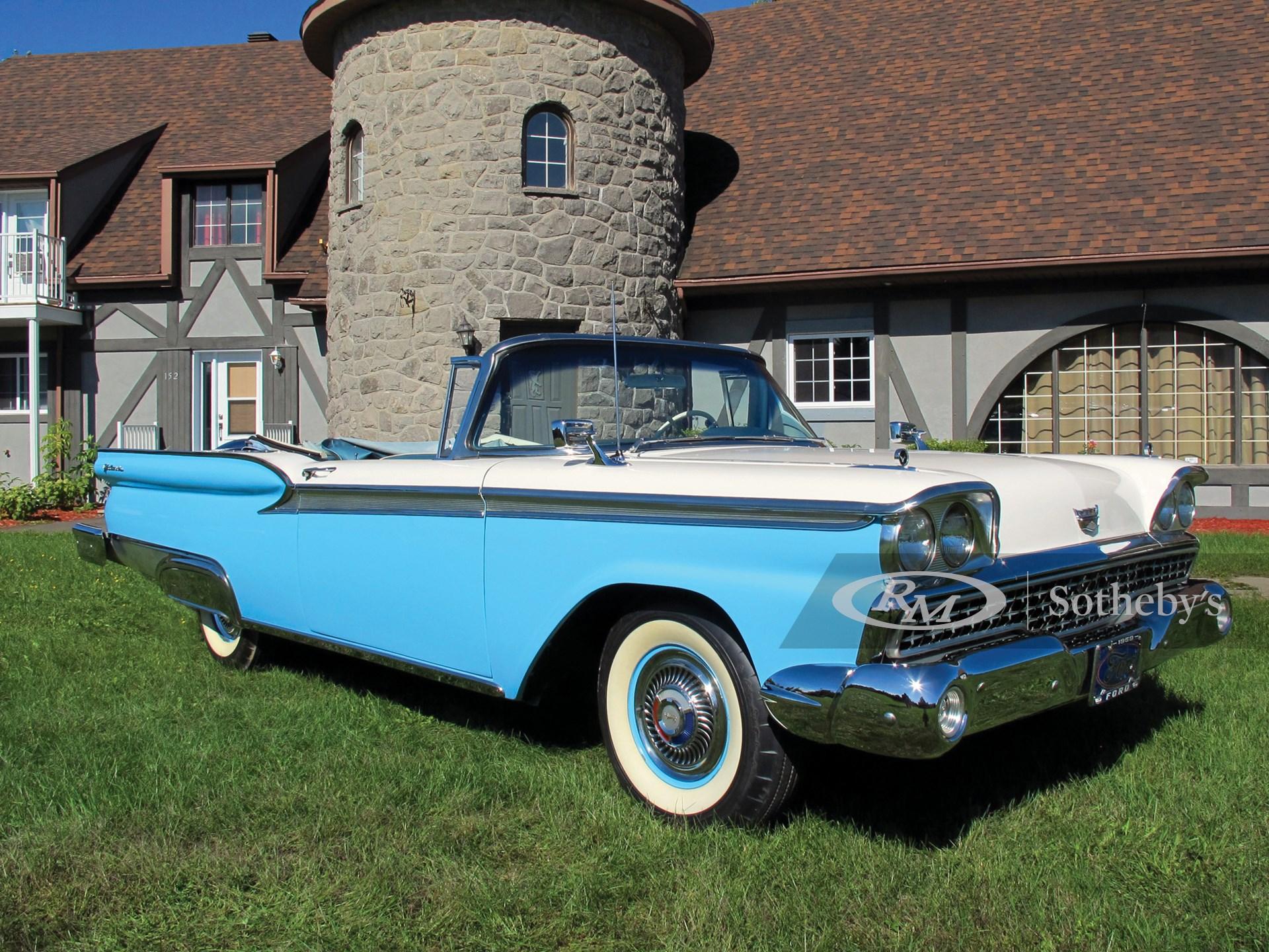 1959 Ford Galaxie Fairlane 500 Sunliner