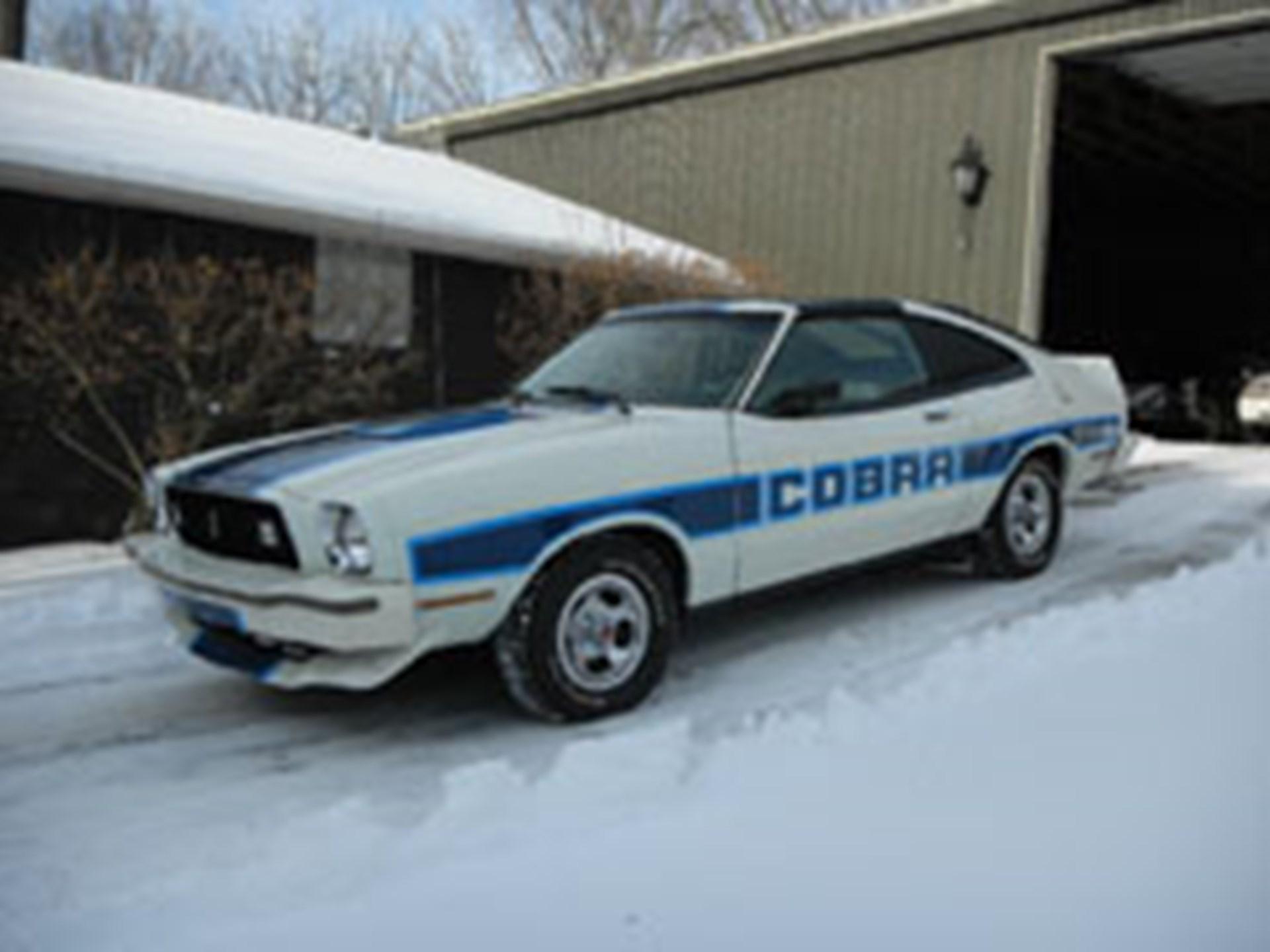 1978 ford mustang ii cobra ii