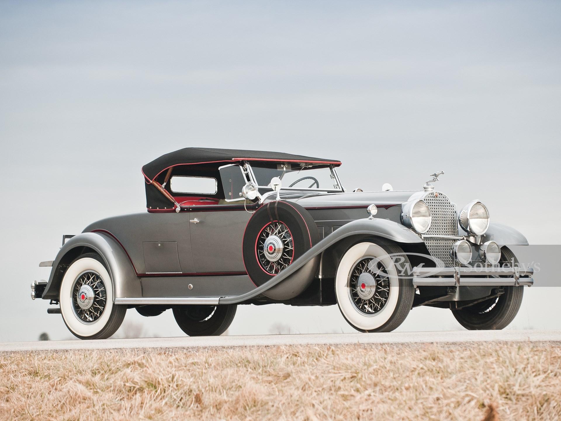 1931 Packard 840 DeLuxe Rumble Seat Roadster