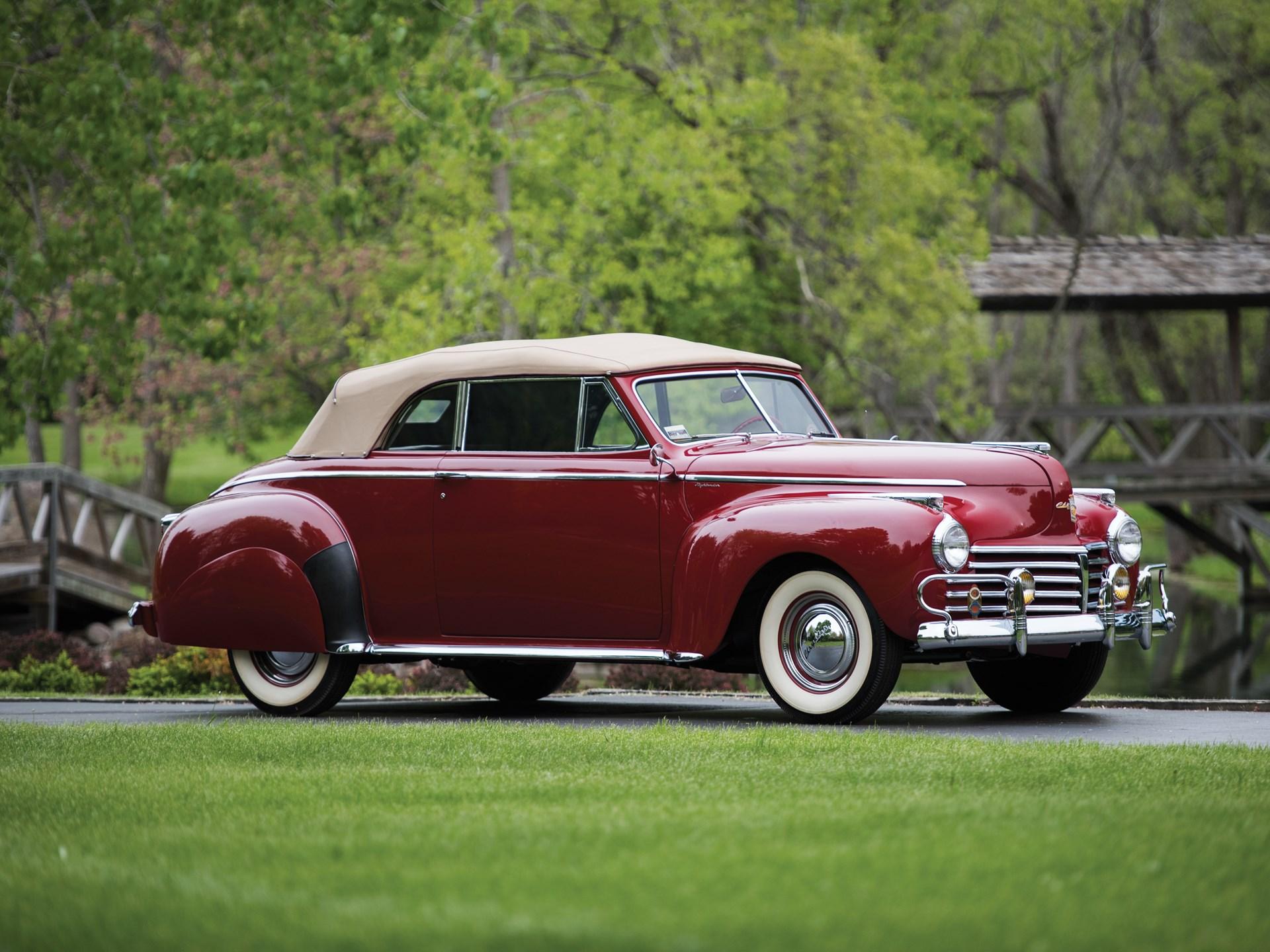 1941 Chrysler Windsor 'Highlander' Convertible