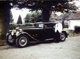 1930 Bentley 6½-Litre Speed Six Sportsman's Saloon by Corsica - $The Speed Six in original condition with longtime owner Hugh Young, 1976.