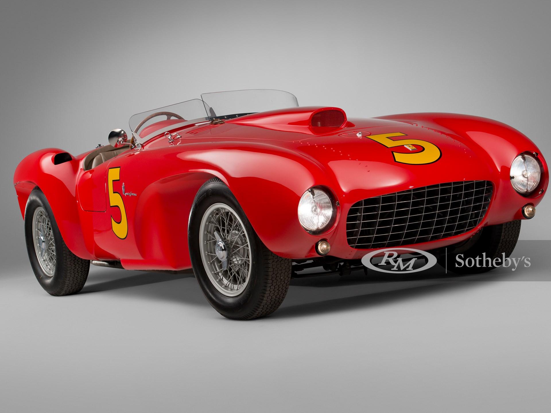 1953 Ferrari 375 Mm Spider By Pinin Farina Monterey 2013 Rm Sotheby S