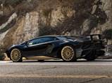 2017 Lamborghini Aventador LP750-4 SV Coupe  - $