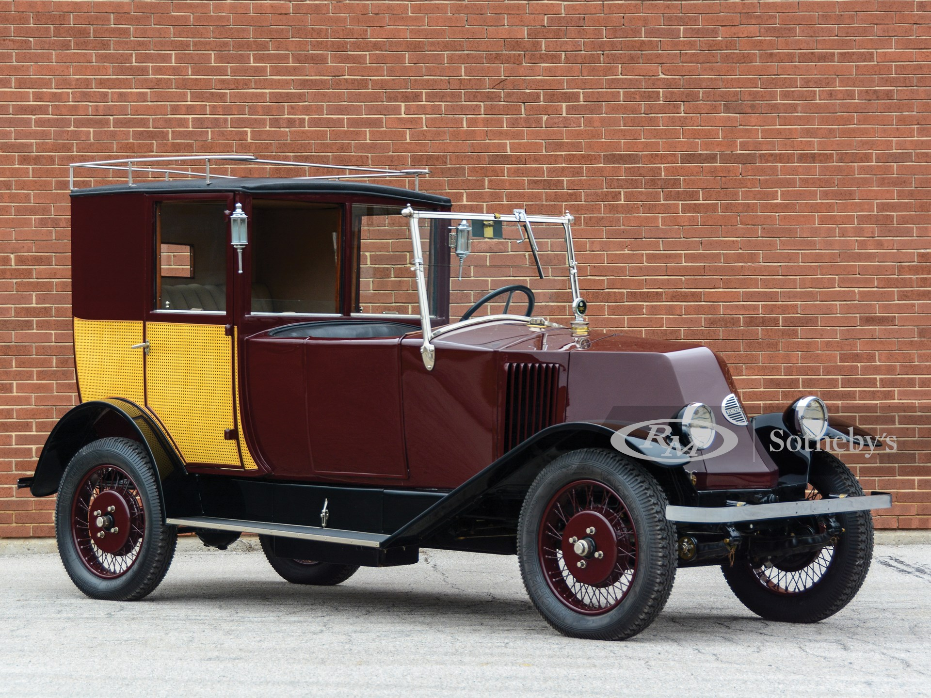 1924 Renault NN Town Car by Labourdette -
