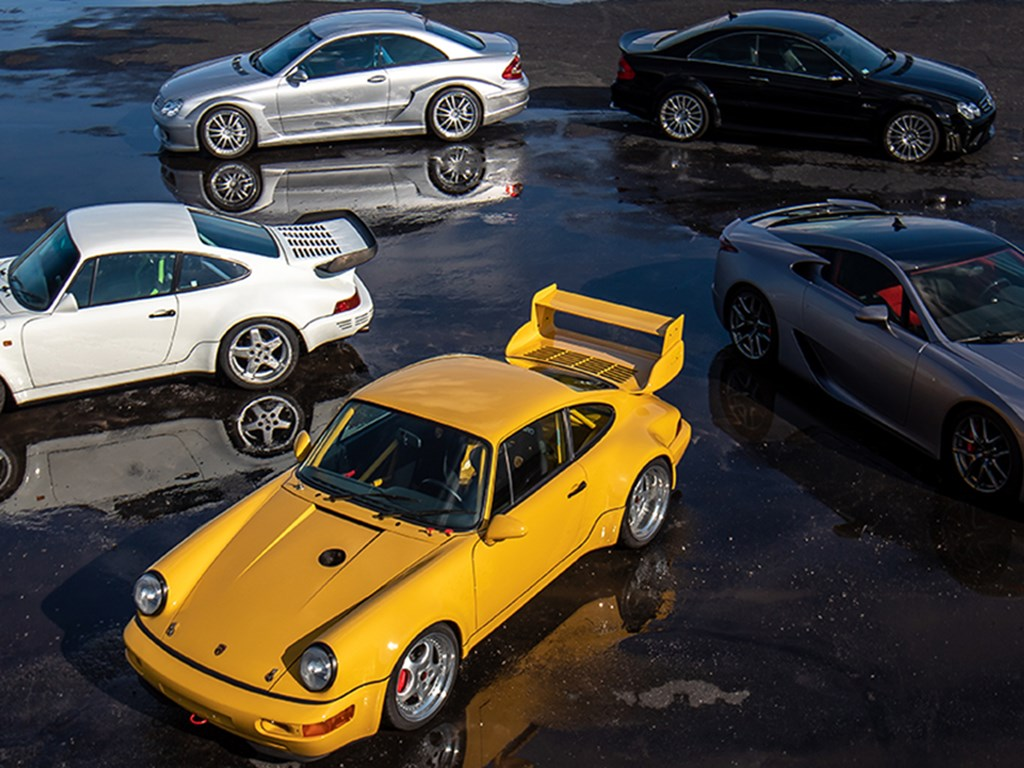 Collection of performance coupes offered at RM Sothebys Amelia Island Live Auction 2021