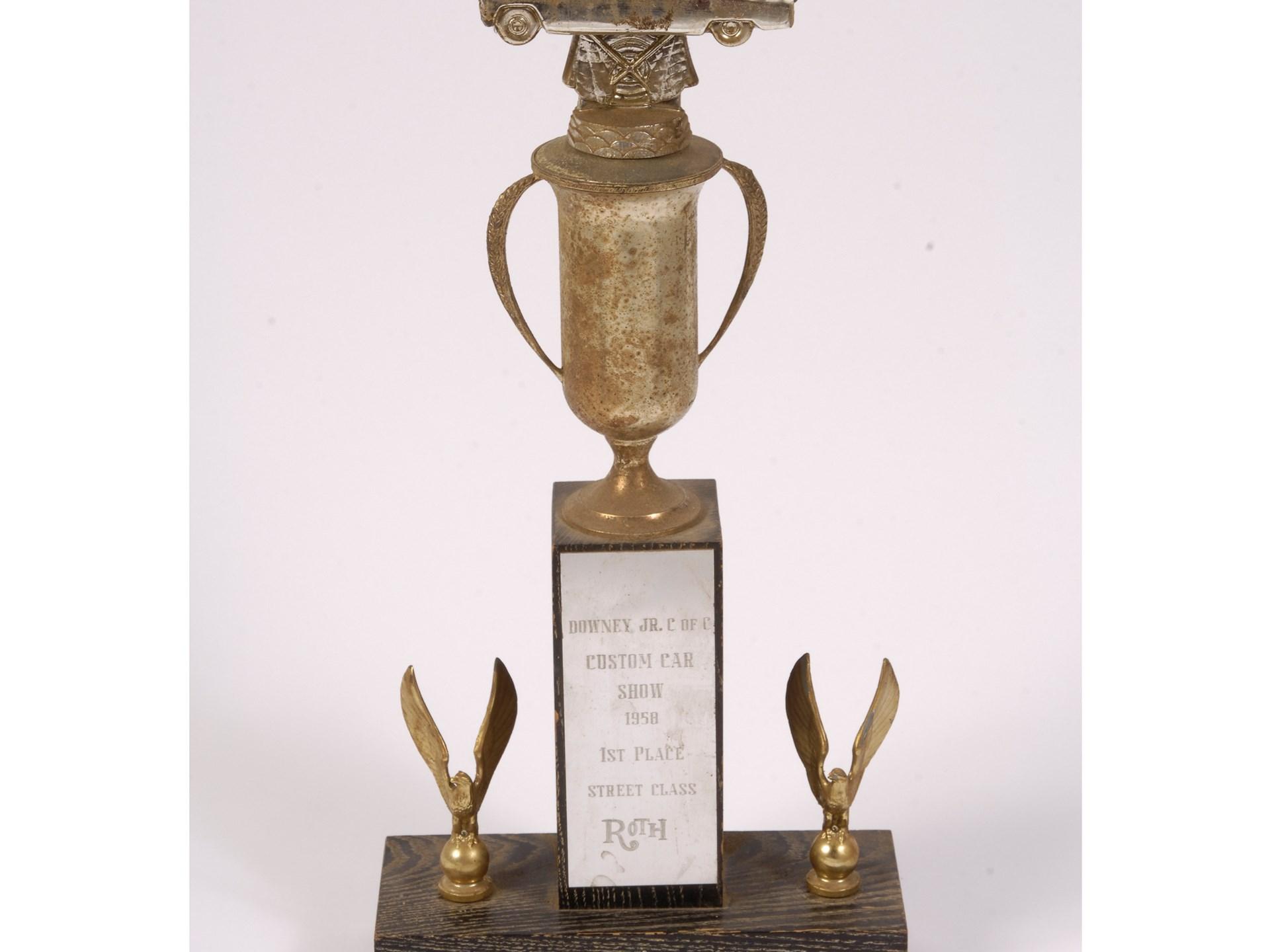 RM Sothebys Ed Big Daddy Roth Custom Car Show Trophy - Car show trophy packages
