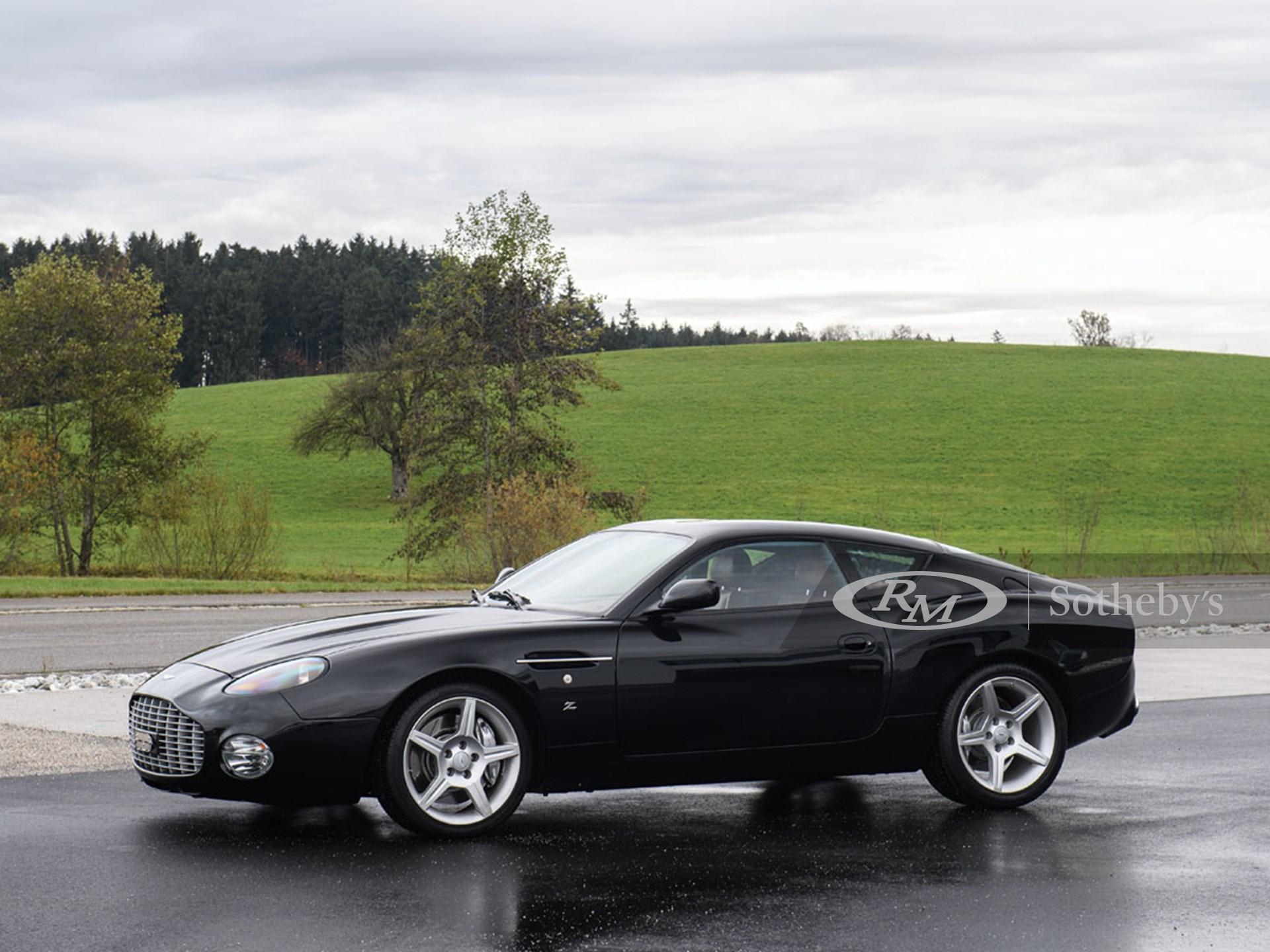 2003 Aston Martin Db7 Zagato Paris 2017 Rm Sotheby S