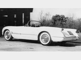 1953 Chevrolet Corvette  - $The '53 Corvette in the original owner's driveway shortly after he bought it.