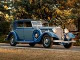 1933 Lincoln Model KB Convertible Sedan by Dietrich - $