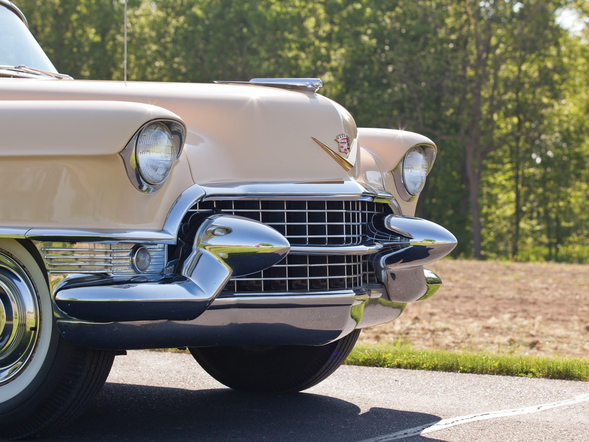 Rm Sothebys 1955 Cadillac Series 62 Coupe De Ville Motor City 2016 Deville Convertible