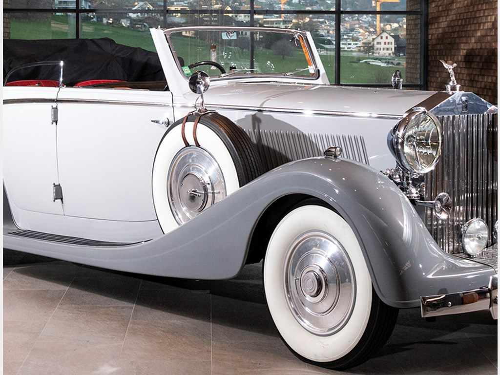 1937 RollsRoyce Phantom III FourDoor Cabriolet by Voll  Ruhrbeck offered at RM Sothebys A Passion For Elegance 2021