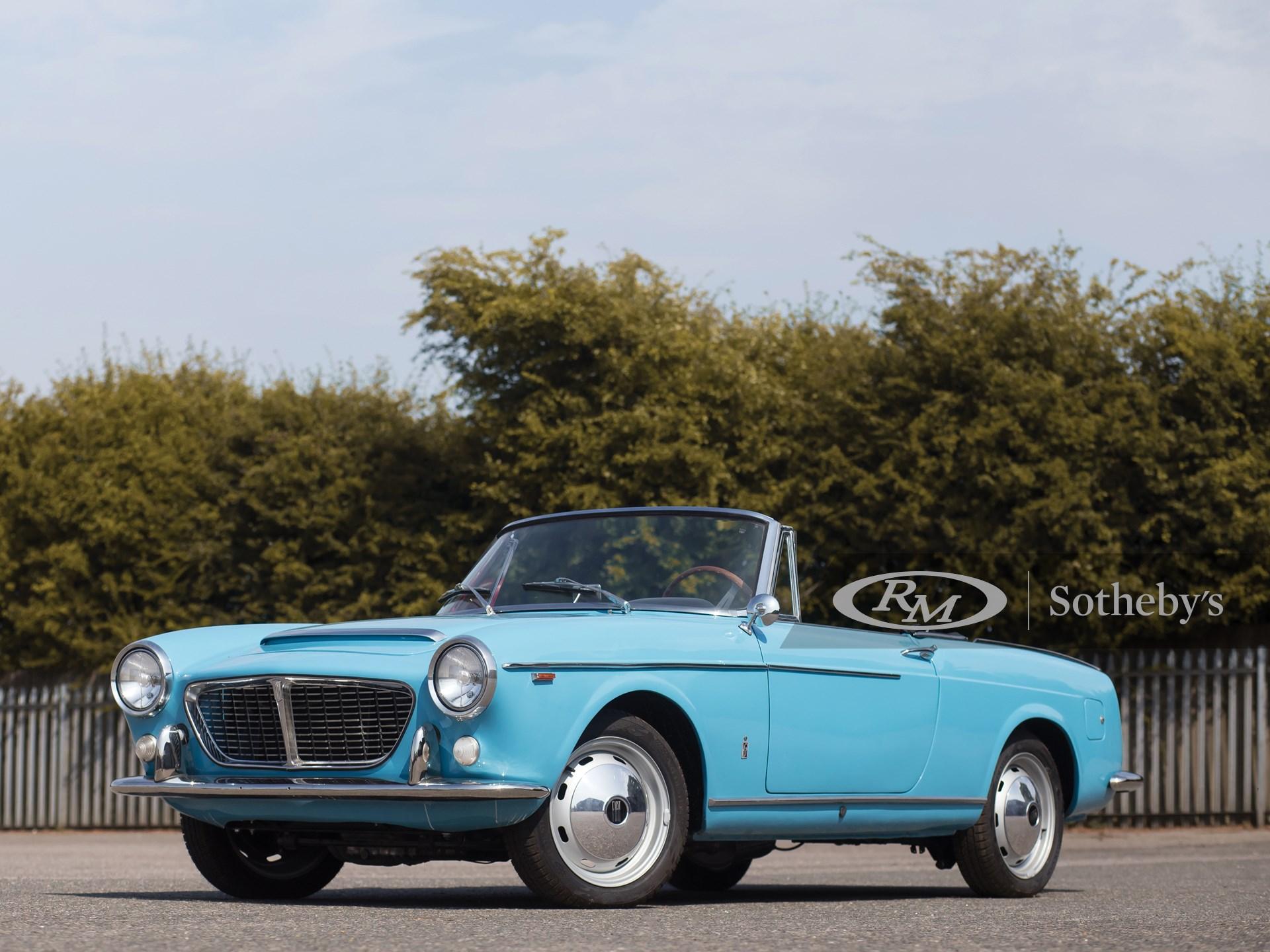 1961 Fiat-OSCA 1500S Spider by Pininfarina