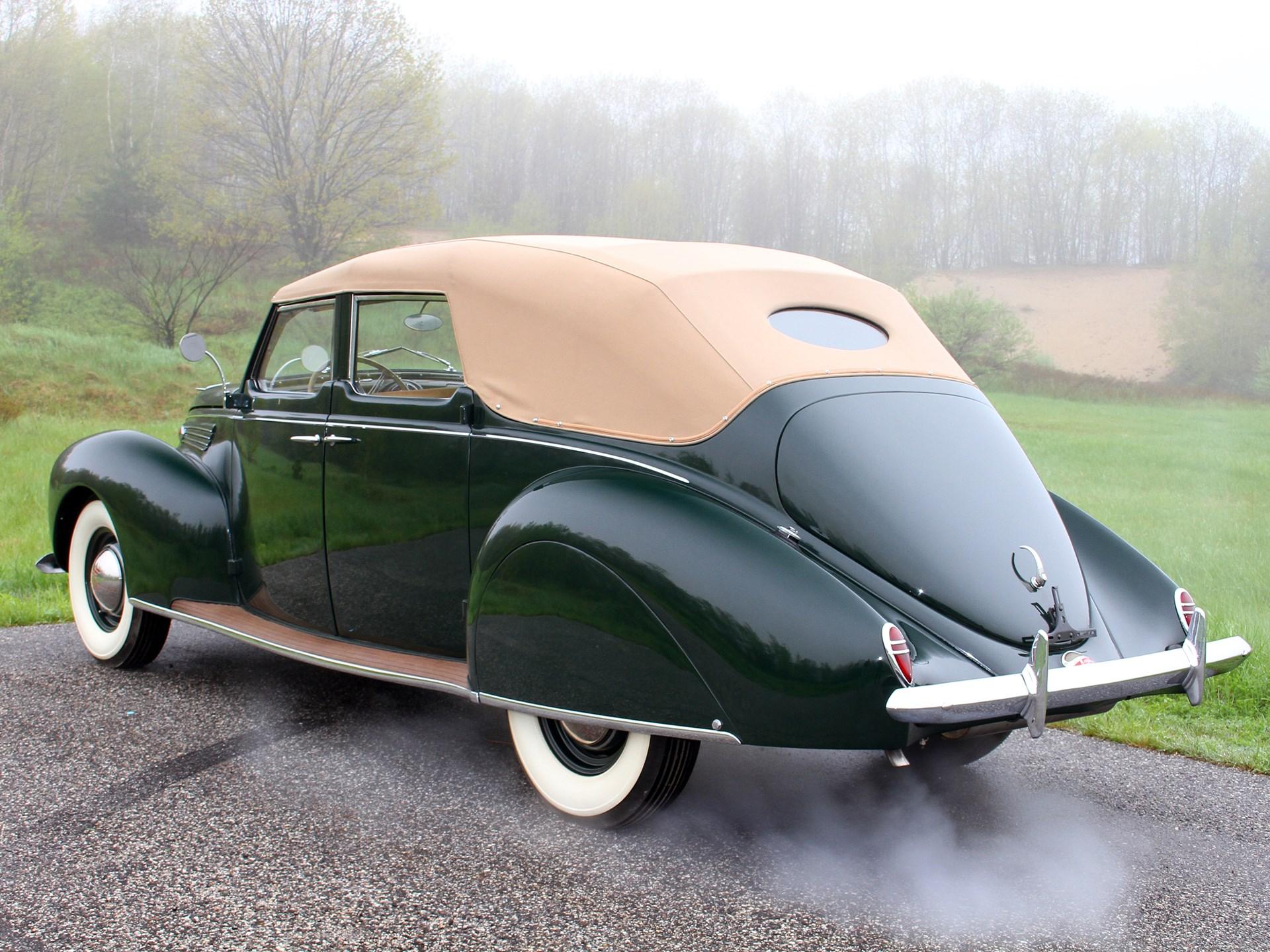 Rm Sotheby S 1938 Lincoln Zephyr Convertible Sedan Amelia Island