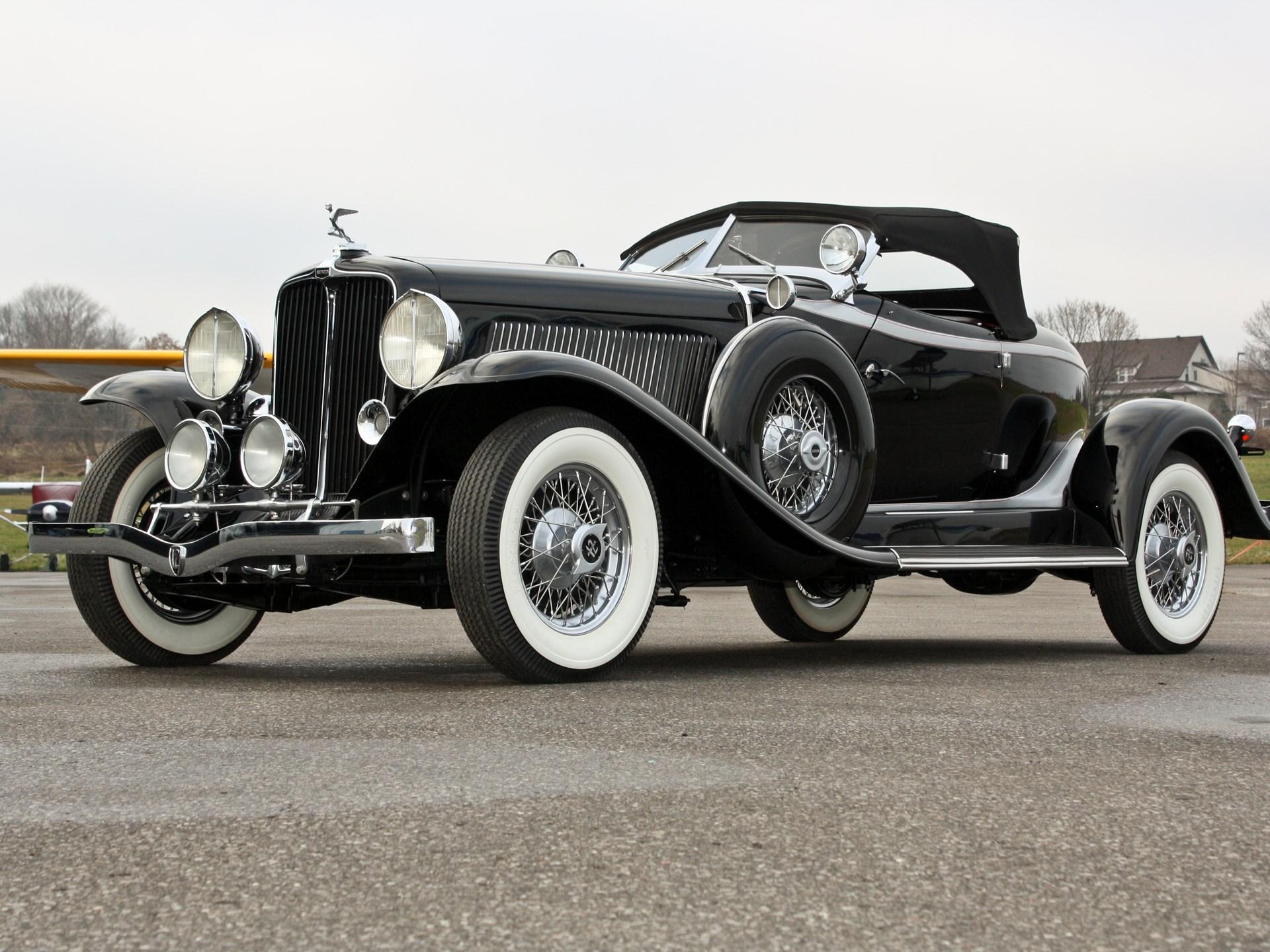 1932 Auburn V 12 Sdster