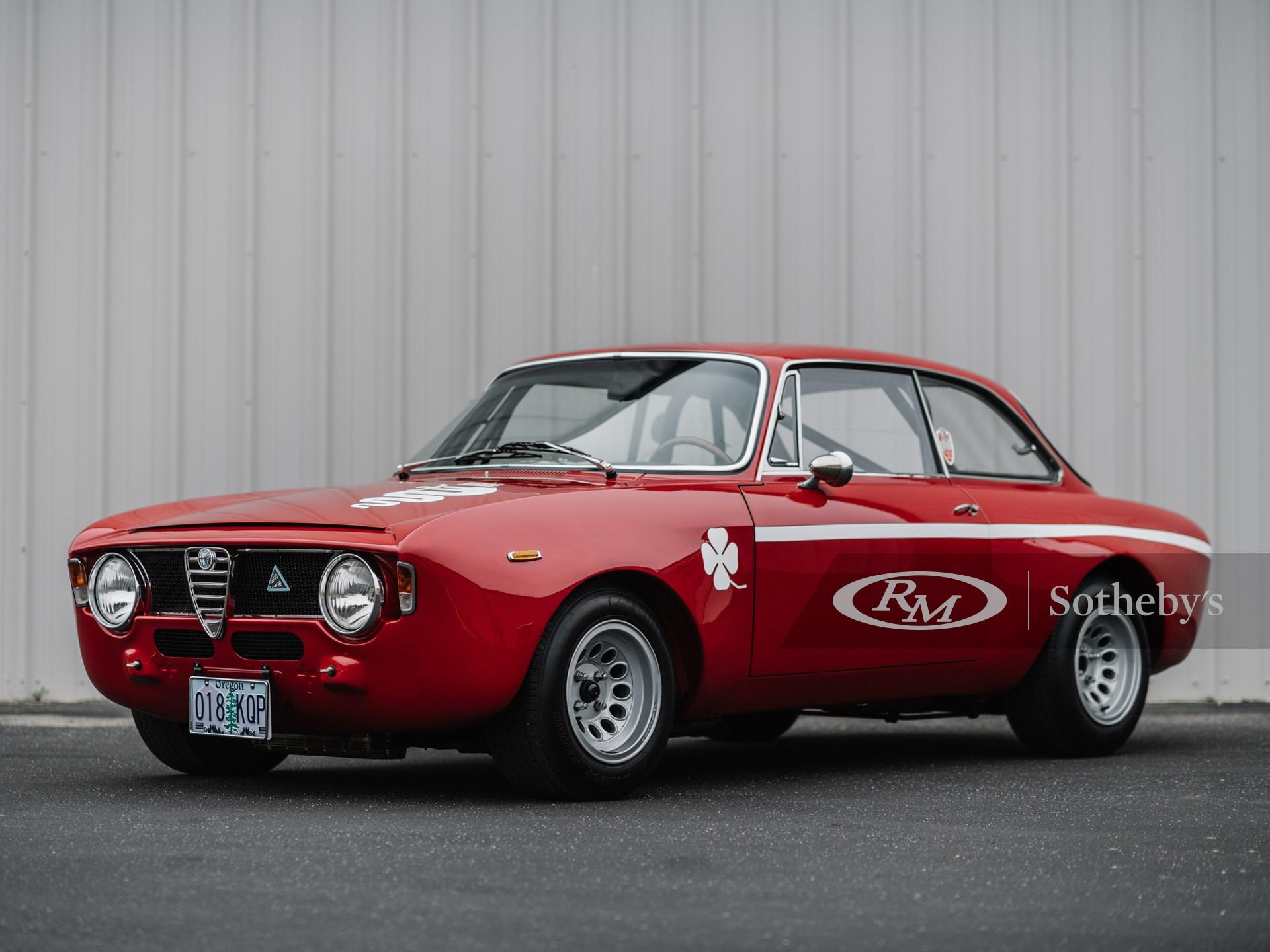 1969 Alfa Romeo Giulia Gta 1300 Junior By Bertone Shift Monterey Rm Online Only