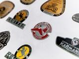 Porsche Coachbuilder Badges, ca. 1950s-60s - $