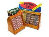 Remington and Peters 22's Reproduction Display Stands - $
